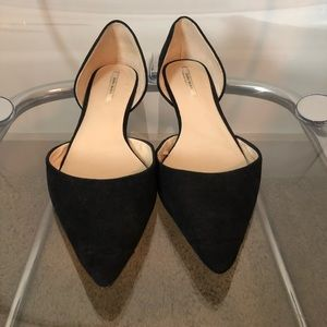 Zara black pointy D'orsay flats
